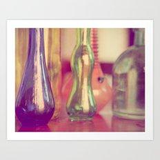 Bottles II Art Print