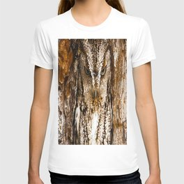 CAMOUFLAGE OWL T-shirt