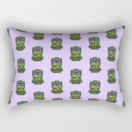 Chibi Donatello Ninja Turtle Rectangular Pillow