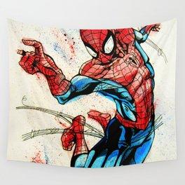 Web-Slinger Spider-Man Wall Tapestry
