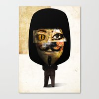 illuminati Canvas Prints featuring illuminati? by Jack