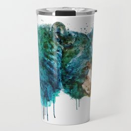 Bear Head Travel Mug