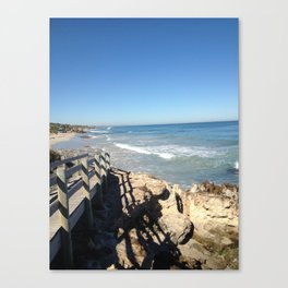 Beach Walk Canvas Print