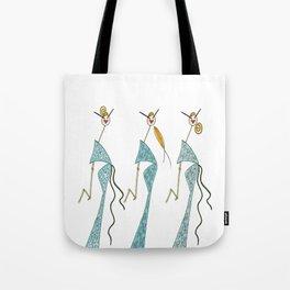 Ginette, Colette & Suzette Tote Bag