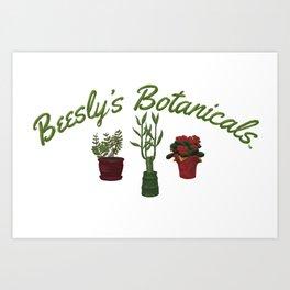 Beesly's Botanicals Art Print