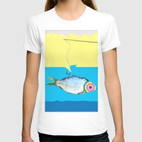 fishing T-shirts featuring Fishing by ilkai