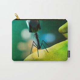 """""""TAKE ME TO YOUR LEADER"""" BACTERIOPHAGE COOL MICROSCOPIC ...Micro Carry-All Pouch"""