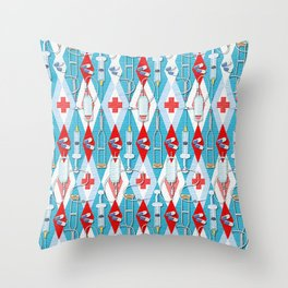 Emergency Medicine Medical Gift For Doctor Nurse Friends! Throw Pillow
