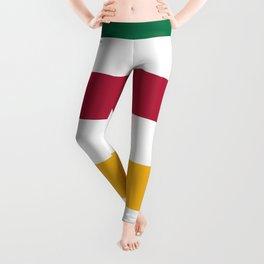 Oh Canada! Canadian Stripes Leggings