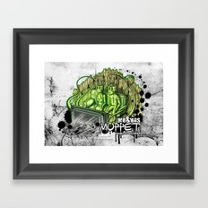 mr. & mrs. muppet Framed Art Print
