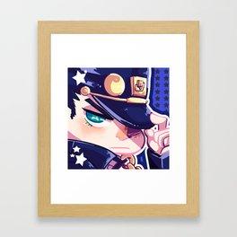 Jotaro Framed Art Print