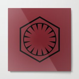 The First Order Metal Print