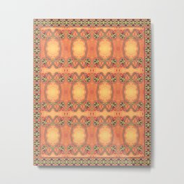 Ebola Tapestry-2 by Alhan Irwin Metal Print