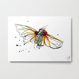 Cicada III Metal Print