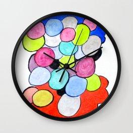 Art Doodle No. 14 Wall Clock