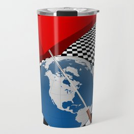 Raining in Universe Travel Mug