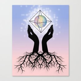 Our Roots Within Canvas Print