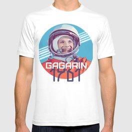 Yuri Gagarin first man in space T-shirt