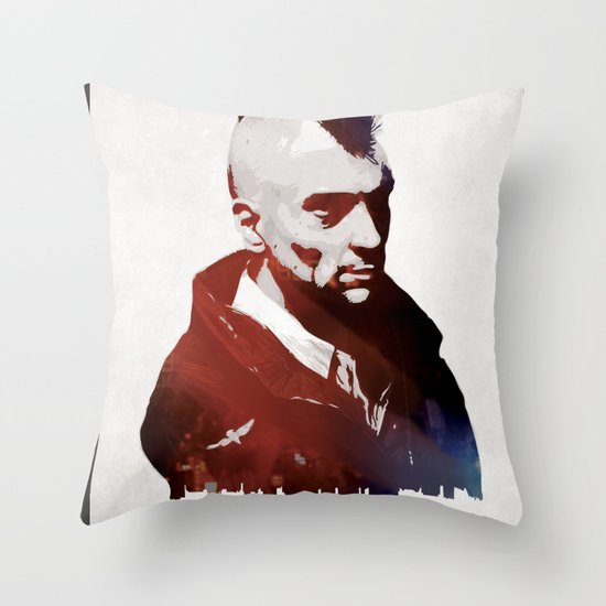 Taxi Driver Throw Pillow