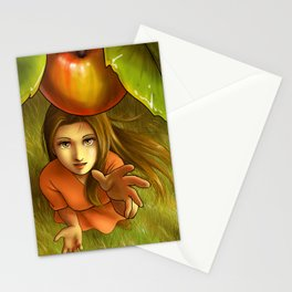 Last apple this summer Stationery Cards