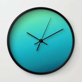 husky gradient Wall Clock