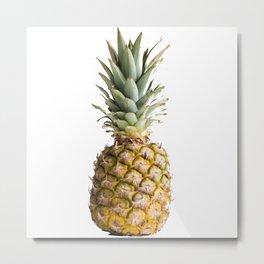 Pineapple Metal Print