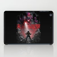 attack on titan iPad Cases featuring Attack On The Future by Six Eyed Monster