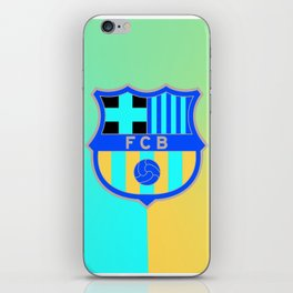 barcelona Sport Football Spain red blue team iPhone Skin