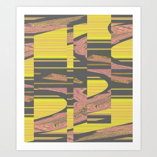 Virus 1.B Art Print
