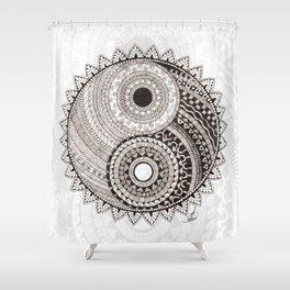 Ying Yang Shower Curtain