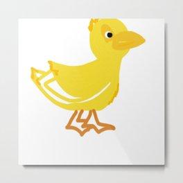 Duckie Metal Print
