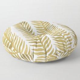 Golden Seaweed Floor Pillow