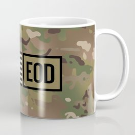 EOD (Camo) Coffee Mug