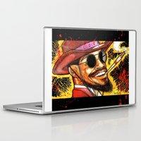 django Laptop & iPad Skins featuring Django Shoots First by hawkeyesour