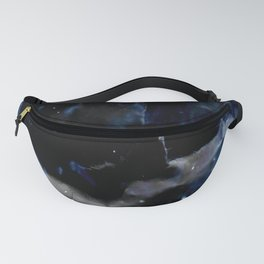 blue and electric texture 9 Fanny Pack