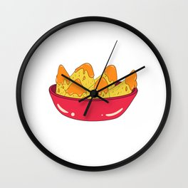 Awesome Expert Tshirt Design NACHO EXPERT Wall Clock