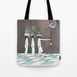 wait your turn Tote Bag