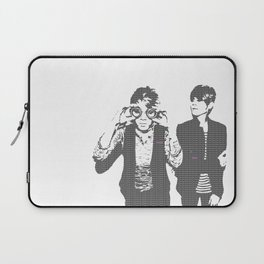 Tegan & Tegan & Sara & Sara - Gray Laptop Sleeve