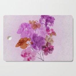 A Floral Sprig Cutting Board