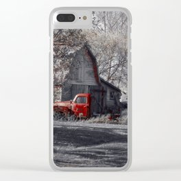 Aging Beauty Clear iPhone Case