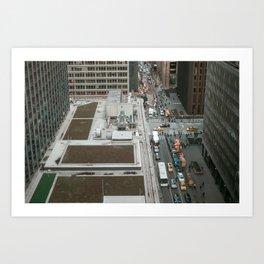 New York Minute Art Print