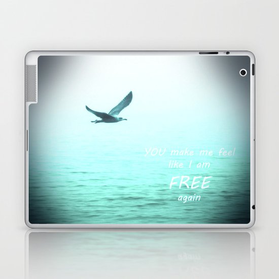 Free again Laptop & iPad Skin