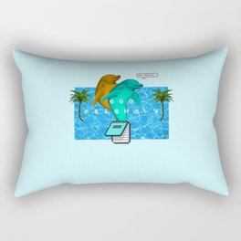 Ego-friendly 2 Rectangular Pillow