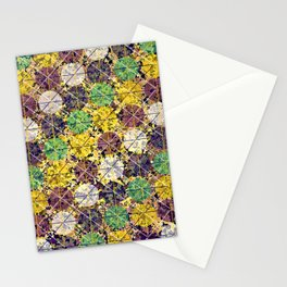 Pattern circles joined Stationery Cards