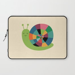 Snail Time Laptop Sleeve