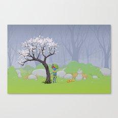 Scout Canvas Print