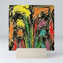 Ghosts of Rainbow Past Mini Art Print