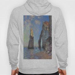 Claude Monet's The Cliffs at Etretat Hoody