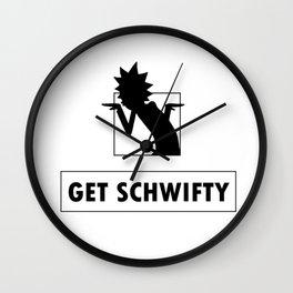 Get Schwifty Wall Clock