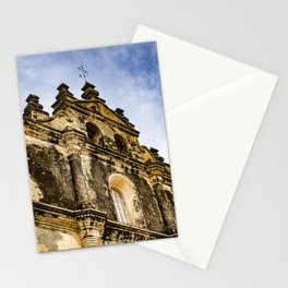View of the Top of the Catholic Church Iglesia La Merced, Granada, Nicaragua Stationery Cards